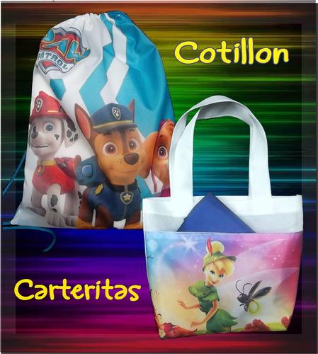 Cotillon Tula Carterita Peronalizado 25x20