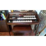 Organo Yamaha Años En Deposito 3 Teclados Muy Buen Estado