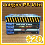 Juegos Playstation Vita Original Fisico (pregunte) C/u