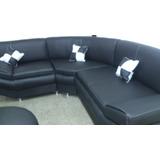 Muebles Modulares De Lujo Negro Patas Cromadas Airtm