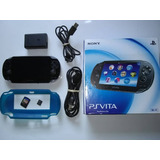 Playstation Ps Vita + 1 Juego + Memoria 4gb Wi-fi Chipeada