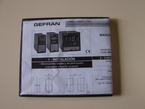 Manual De Pirometros Gefran 1000 En Pdf