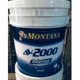 Pintura Montana Av2000 Interior Blanco (cuñete)