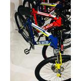 Bicicletas Montañera Italiana Rin 26 Shimano Frenos De Disco
