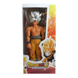 Muñeco Articulado Dragon Ball De Goku Ultra Instinto 33cm