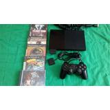 Playstation 2. Ps2 Slim 9001 Chipeado Completo