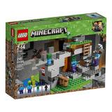 Lego Minecraft - La Cueva De Los Zombis (21141) Ccs Y Val 29