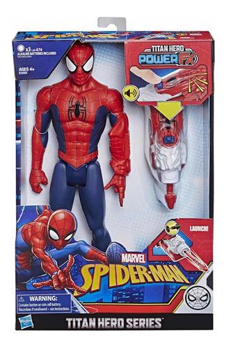 Spiderman Titan Hero Interactivo Frases En Español 30 Cm
