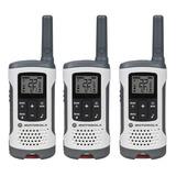 Radio Motorola Paquete De 3 Unidades Hasta 40km T260tp