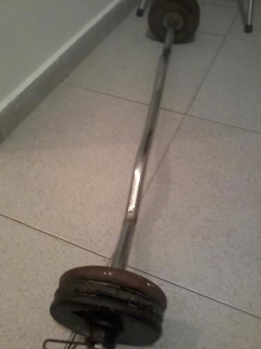 Vendo barra zig zag curl para ejercicio con 8 discos bs f for Gimnasio zig zag
