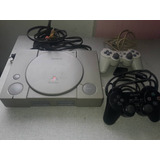 Play Station 1 Original, Perfecto Estado, Dos Controles