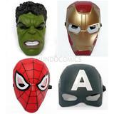 Mascaras Avengers Marvel Con Lucesled Para Niños