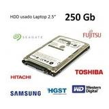 Disco Duro 250gb Laptop 2.5, Portatil, Dvr, Xbox, Ps3, Ps4