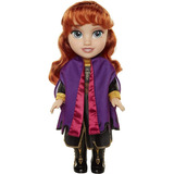 Muñeca Anna Baby Frozen 2 Disney Con Botas 14 Pulgadas