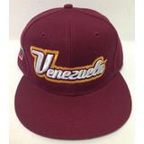 Gorras De  strong Venezuela  strong  Modelo 28  Plana  Vinotinto 586408d4600