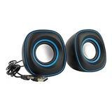 2 Cornetas Mini Pc Usb Portatiles Speaker 2.0 Laptop G-105