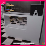 Vitrina, Mostrador, Exhibidor Con Espacio Para Caja (v4)