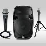 Corneta Amplificada 15 Pulgadas 1500w Bluetooth 210dls