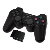 Control Para Playstation 2 Dualshok Inalambrico Ps2 Blister