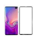 Vidrio Templado Samsung S10  Bordes Negros Curvos