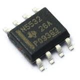Ne5532 N5532 Sop-8 Smd Amplificador Operacional Audio