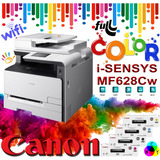 Fotocopiadora,impresora Escáner Mf628cw Ful Color Canon Wifi