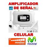 Amplificador Señal Celulares Repetidora Movistar Movilnet 4g