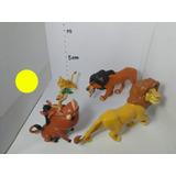 Muñequitos Rey León Y Muñecos Animales De La Selva Usados