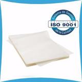 100 Laminas De Plastificar Tamaño Carnet 175 Micrones 65x90