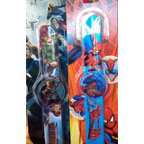 Reloj Para Niños Avengers, Spiderman, Dragon Ball