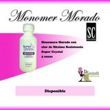 Monomer Morado Super Crystal 4 Onzas