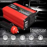 Inversor Convertidor De Corriente Voltaje 12v A 110v,  200w