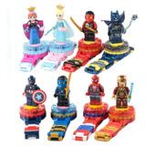 Reloj Lego Niños Super Heroes Frozen Moana Pony Mayor Detal