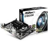 Tarjeta Madre Asrock D1800m + Procesador Intel Dual Core New