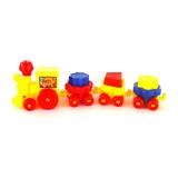 Trensito Plastico Juguete Educativo Con Figuras.somos Tienda