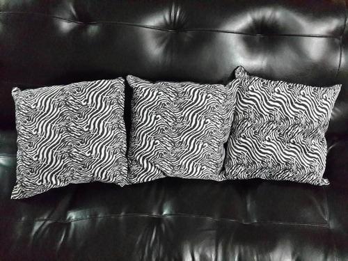 Cojines Animal Print.Cojines Animal Print Cebra Ambas Caras De 35x35cm 48500 En