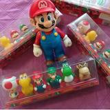 Figuras De Mario Bros Set De 6 Piezas Precio De Oportunidad