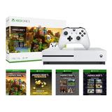 Xbox One S 1tb - Minecraft + 6 Meses Xbox Gold Gratis!