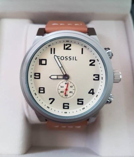 cbcca918b741 Reloj Fossil Correa De Cuero Modelos 2018