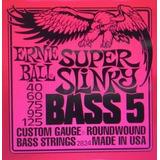 Ernie Ball 5 Y 4 Cuerdas-alice 4 Cuerdas Para Bajo