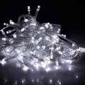 Luces Para Decoracion Y Navidad Led 100 Bomb Doble Conector