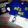 Franelas Barcelona Fc Barca