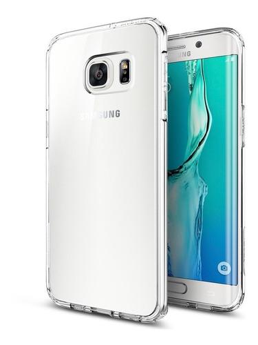 f93a077d301 Forro Spigen Samsung S6 Edge Plus Ultra Hybrid Crystal Clear