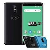 Telefono Krip K55h 4g Lte Dual Sim 4 Camaras 5.5  2ram 16int
