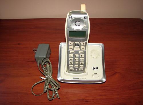 13b3407730c Teléfono Inalámbrico General Electric 5.8ghz Mod 25922ge1-a