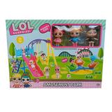 Set De Parque Infantil Lol Surprise + 3 Muñecas
