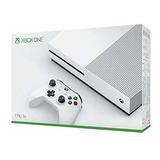 Microsoft Xbox One S 1tb Console - White(250 Verdes)