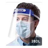 Protector O Mascara Facial Antisplash Face Shield