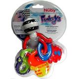 Nuby - Mordedo Llavero Con Tres Llaves  Funky  / 00477