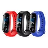 Reloj Inteligente Pulsera Smartwatch M4 Fitness Ritmo Cardia